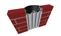 616 Series Flush Mount Pleated Seal Expansion Joint System