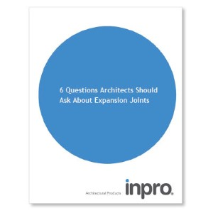 6 Questions Architects Should Ask About Expansion Joints