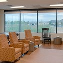 WebbLok Shades installed in a Medical Facility