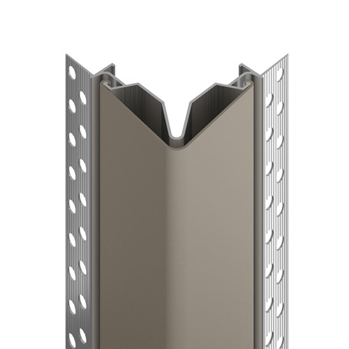 150F flush mount corner guard in shiprock gray