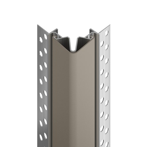 160F flush mount corner guard in shiprock gray