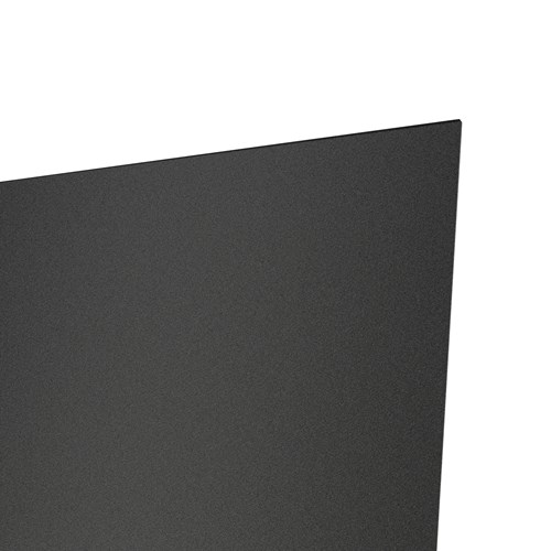Palladium Rigid Sheet made from recycled content in black