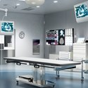 Surgery room stainless steel wall panels