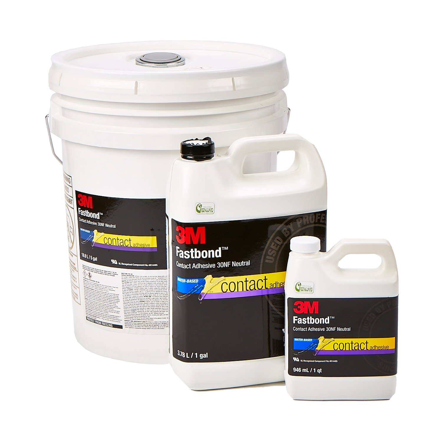 Fastbond 30 Contact Cement in 1 quart, 1 gallon or 5 gallon sizes