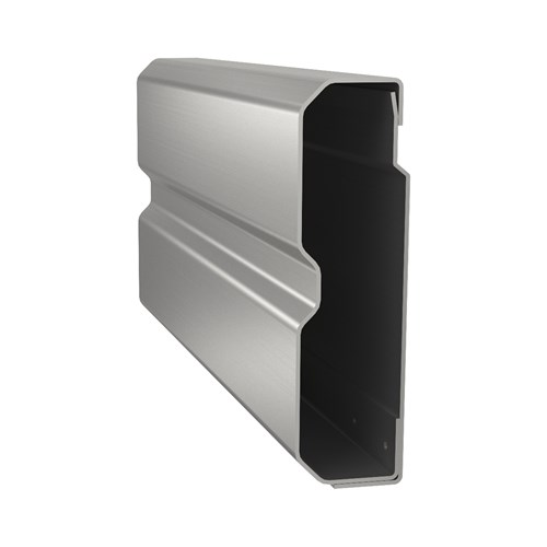 30SS Wall Guard stainless steel cut away view