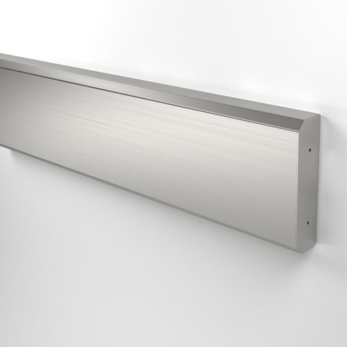 "31SS Wall Guard 5 1/2"" height stainless steel"