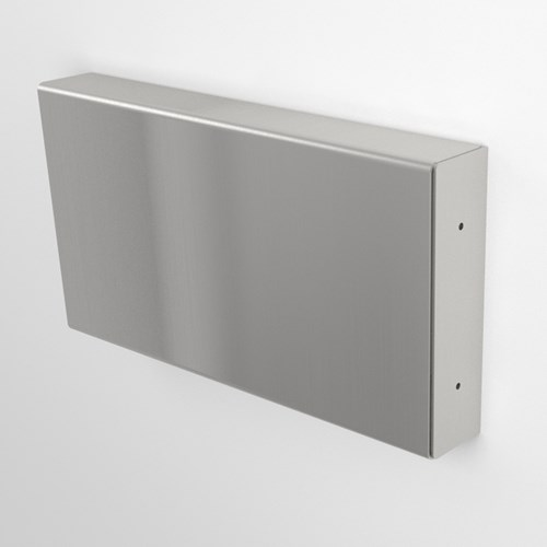 31SS Wall Guard stainless steel cut away view