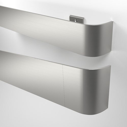 50SS Wall Guard in stainless steel