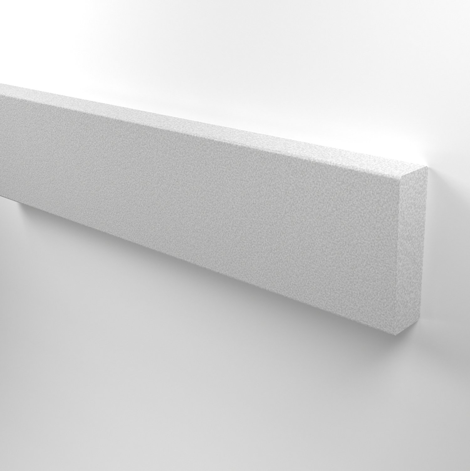"NuTree Wall Guards in White 1 1/2"" thickness"