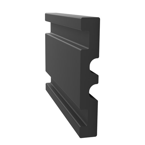 Wall200-10 Rubber Wall Guard cut away view