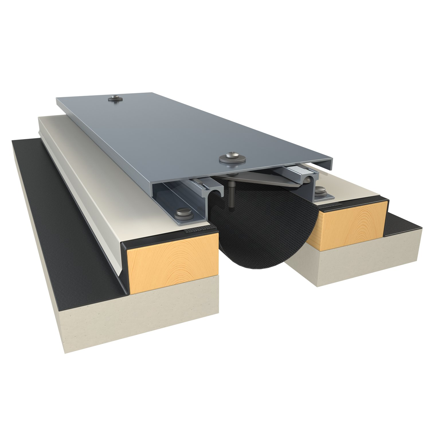 651 Series Surface Mount Metal Wall Expansion Joint System