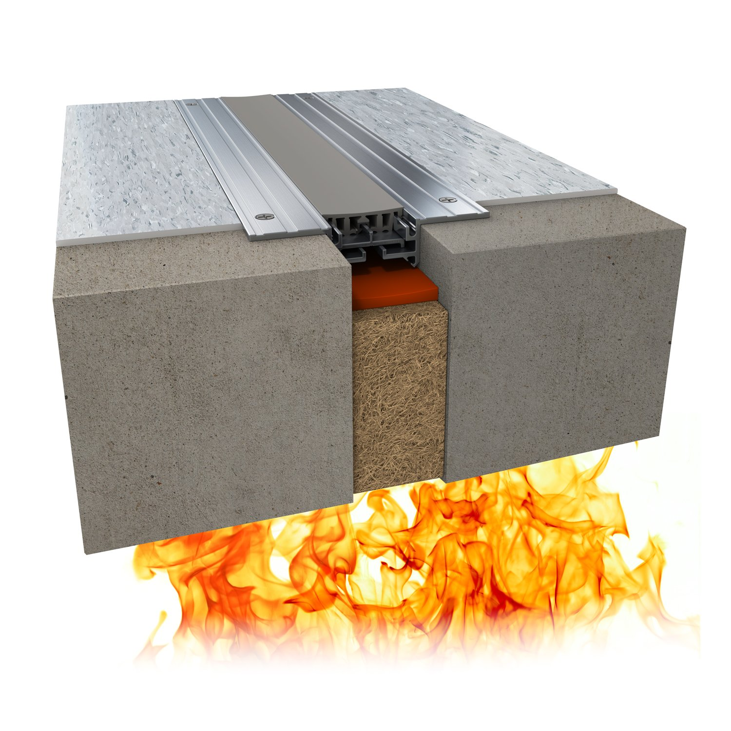 925 Series Mineral Wool and Sealant Fire Barrier