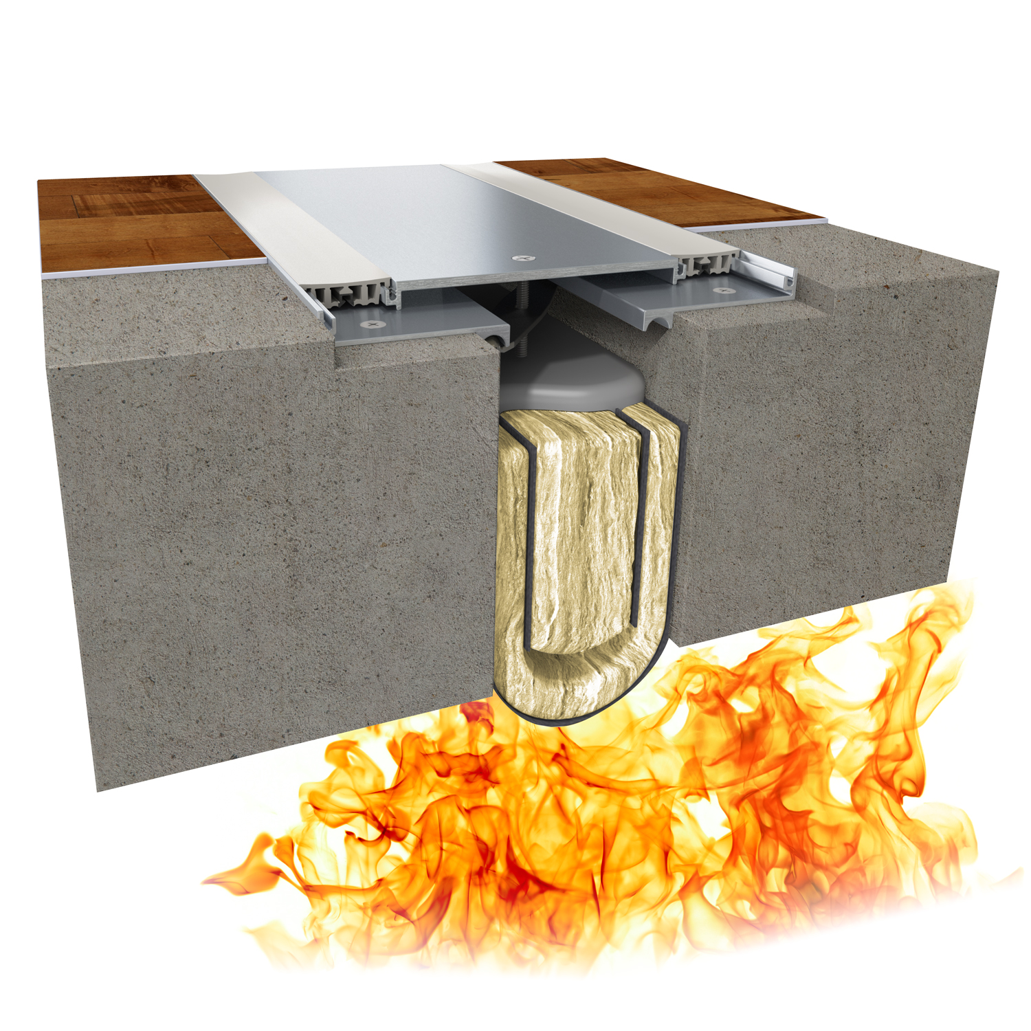 935 Series Mineral Wool and Sealant Fire Barriers up to 5""