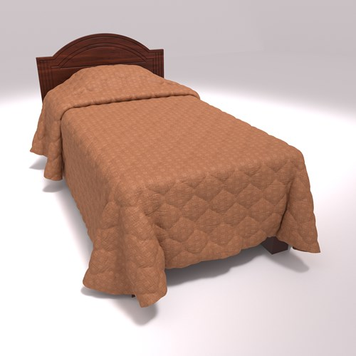 Brown Throw Beadspread