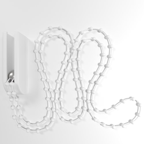 Cubicle curtain plastic beaded chain
