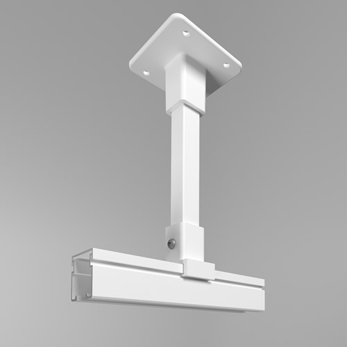 Optitrac cubicle curtain track hard ceiling support bracket