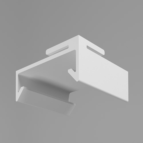 Ultra Cube cubicle curtain track flush grid clip