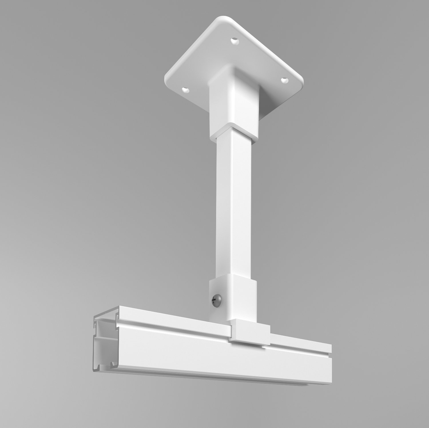 Ultra Cube cubicle curtain track hard ceiling support bracket