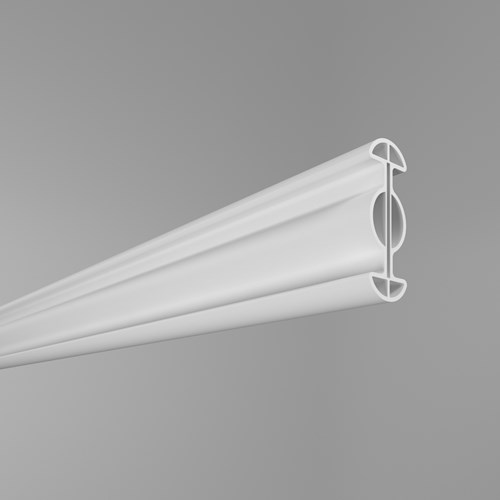 Formatrac bendable cubicle curtain track by Inpro