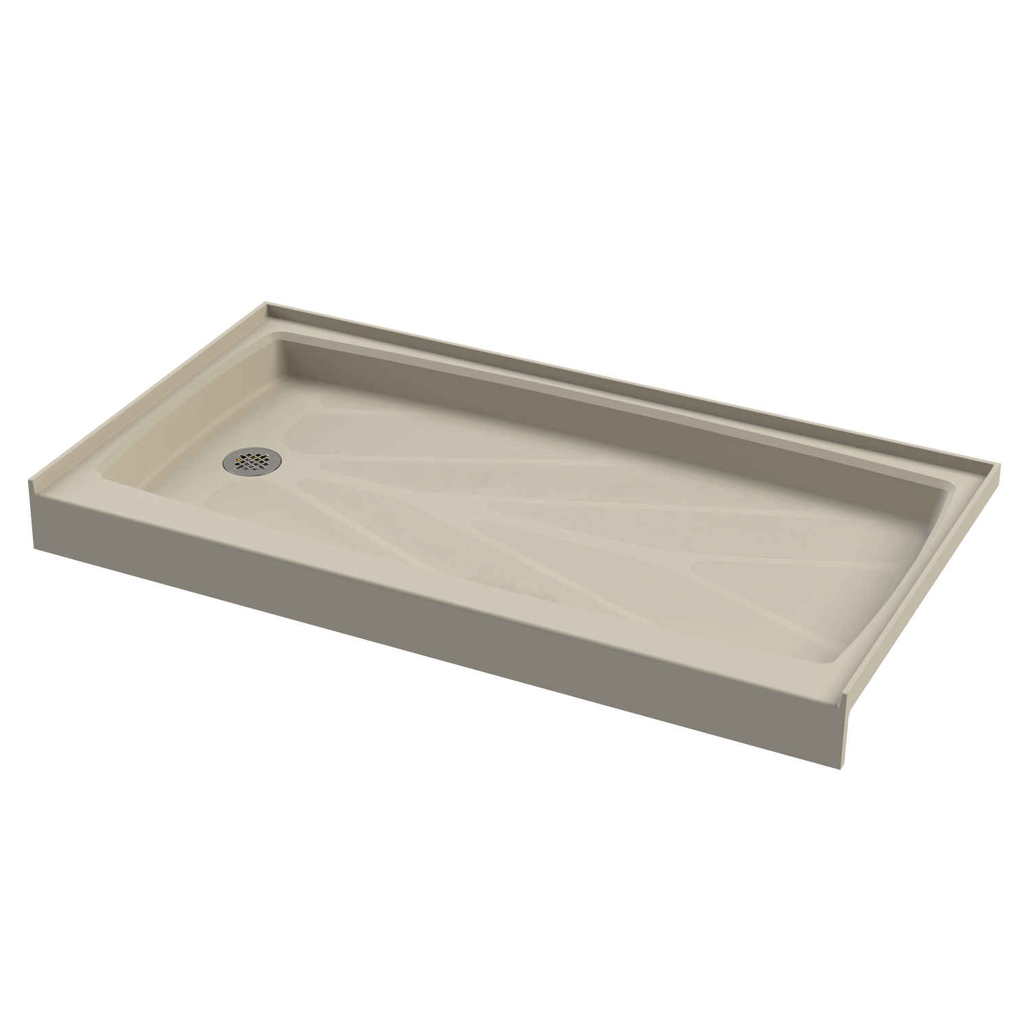 Tub replacement shower base
